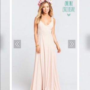 Show me your Mumu Jenn bridesmaid dress, size M